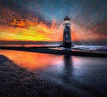 Lighthouse Rescue by Adrian Evans