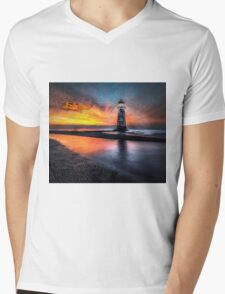 Lighthouse Rescue Mens V-Neck T-Shirt