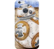 BB8 Star Wars The Force Awakens Droid  iPhone Case/Skin