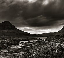 """Stormy Day - Stac Pollaidh, Northwest Highlands"" by bigredt"