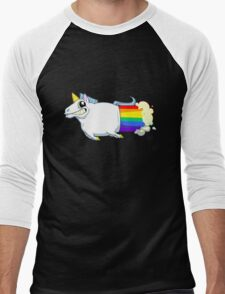 Unicorn Farts Men's Baseball ¾ T-Shirt
