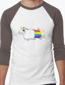 Unicorn Farts Men's Baseball ¾ T-Shirt