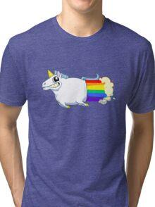Unicorn Farts Tri-blend T-Shirt