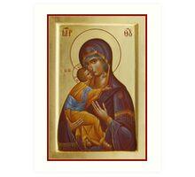 Vladimir Mother of God Art Print