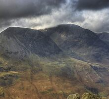 The High Stile Range From Fleetwith Pike by VoluntaryRanger