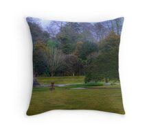 Pencarrow House Gardens Throw Pillow