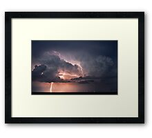 Third Strike! Framed Print