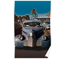 Old time 1930's-1950's car. Poster