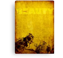 Inherent Beauty in Decay Canvas Print