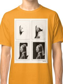 Vermeer - study in pencil Classic T-Shirt