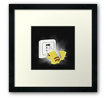 PIKA POWER UP 69 % Framed Print