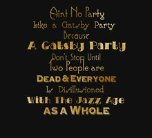 Gatsby Party - Gold and Black Unisex T-Shirt