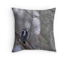 Woodpecker 2/13/2011 Throw Pillow