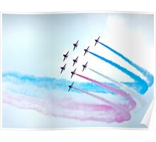 Red Arrows, Chatsworth  Poster