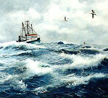 """""""Ocean Pride"""" by Frank Boudreau"""