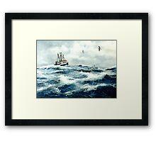 """""""Ocean Pride"""" Framed Print"""