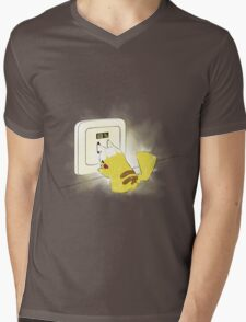 PIKA POWER UP 69 % Yellow T-Shirt