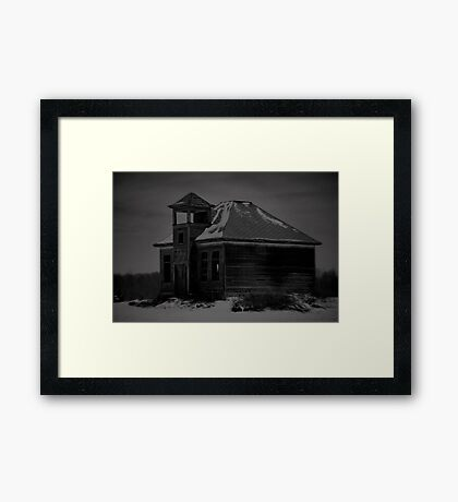 Once upon a School Framed Print