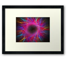 Coloration Swirl  Framed Print