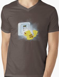 PIKA POWER UP 69 %  BLUE T-Shirt