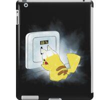 PIKA POWER UP 69 %  BLUE iPad Case/Skin
