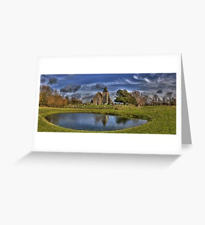 St Clements,Old Romney Greeting Card