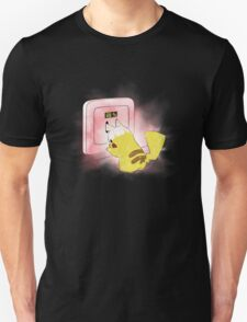 PIKA POWER UP 69 % RED  T-Shirt
