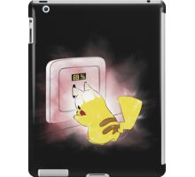 PIKA POWER UP 69 % RED  iPad Case/Skin
