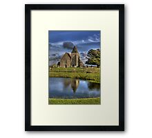St Clements Reflection Framed Print
