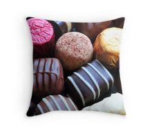 Chocolates Throw Pillow