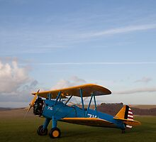 PT13-D Stearman biplane 15 by Tony Roddam