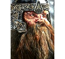 Gimli The Lord of the Rings Dwarf  Photographic Print