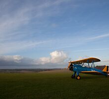PT13-D Stearman biplane 16 by Tony Roddam