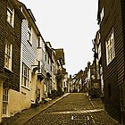 Mermaid Street, Rye by Dave Godden