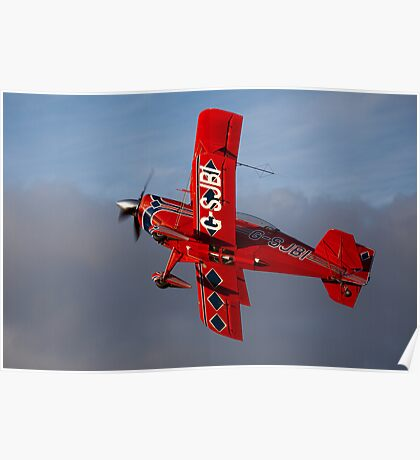 A Pitts aerobatic biplane Poster