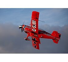 A Pitts aerobatic biplane Photographic Print