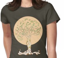 Arbre de vie | Tree of Life Womens Fitted T-Shirt
