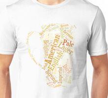 Beer Word Cloud Unisex T-Shirt