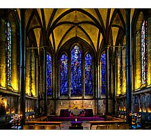 Trinity Chapel in Salisbury Cathedral Photographic Print