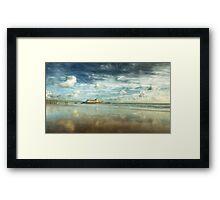 Bournemouth Beach Framed Print