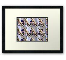 The Whittler Framed Print