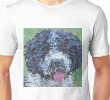 Spanish Water Dog Fine Art Painting Unisex T-Shirt