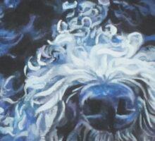 Spanish Water Dog Fine Art Painting Sticker