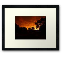 Beauty after the Beast Framed Print