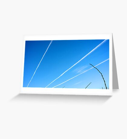Cloud Rays Greeting Card