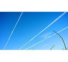 Cloud Rays Photographic Print