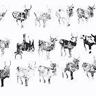 1 Dead Deer by Peter Simpson