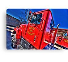 Chico, Texas - Volunteer Fire Department Canvas Print