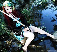 Geisha in the Pond - Kalli McCandless by prelandra