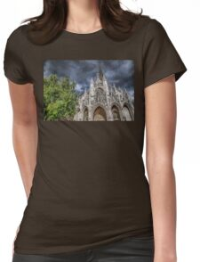 France. Normandy. Rouen. Church of Saint-Maclou. Womens Fitted T-Shirt